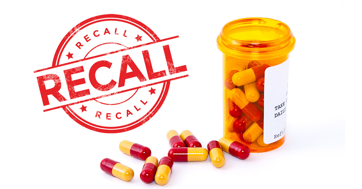 What to do when your medication is recalled