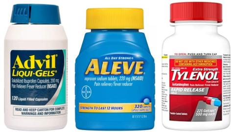 Differences Between Tylenol Advil Aleve